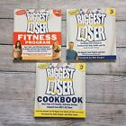 TV Show Biggest Loser Weight Loss + Fitness Program Cookbook 3 Book LOT