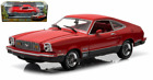 1976 FORD MUSTANG II MACH 1 RED 1 18 SCALE DIECAST CAR MODEL BY GREENLIGHT 12867