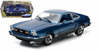 1976 FORD MUSTANG II MACH 1 BLUE 1 18 SCALE DIECAST CAR MODEL GREENLIGHT 12868