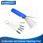 Motorcycle Carburetor Carbon Dirt Jet Remove Tool 5 Brushes 13 Cleaning Needles