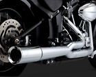 Vance  Hines Pro Pipe Exhaust System Chrome for Harley Heritage Softail 2012 17