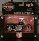Maisto Harley Davidson Series 16 Die-Cast 1:18 1999 FXSTS Springer Softail...