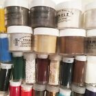 Lot of 33 Embossing Powders Shimmerz Enamelz Stampendous