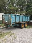 Armstrong Holmes Grain Silage Tractor Tipping Trailer