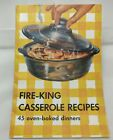 Fire King Casserole Recipes Sapphire Blue Philbe Pamphlet