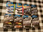 8 Hot Wheels Fast  Furious Diecast Cars Grand National Supra Charger  more