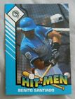 1993 Starting Lineup Benito Santiago Florida Marlins HIT MEN Baseball Card