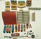 Tech Deck Lot Figure Board Tony Hawk Ramps Steps Rails Miscellaneous