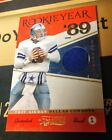 2011 Timeless Treasures Troy Aikman Rookie Year 89 Prime Materials Patch 25