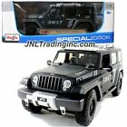 JEEP RESCUE CONCEPT POLICE SWAT VERSION 1 18 DIECAST CAR MODEL BY MAISTO 36211