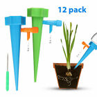 12Pcs Plant Self Watering Spikes Adjustable Automatic Drip Irrigation Devices
