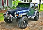 Paintable Black 97 06 Jeep Wrangler TJ LJ Unlimited Pocket Rivet Fender Flares