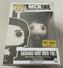 Funko Pop Hot Topic Exclusive My Chemical Romance GERARD WAY Red Tie MCR Rocks