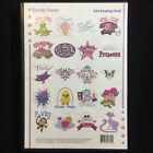 Trendy Teens Girly Embroidery Designs Multi-format CD  -Dakota Collectibles