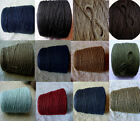 Sale  Choice Of Colors Quality Soft 3 Ply Cotton Yarn Knit Crochet Weave