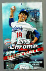 2016 TOPPS CHROME BASEBALL FACTORY SEALED HOBBY BOX 2 AUTOS AUTOGRAPHS - LOADED