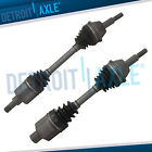 2pc Front CV Axle for1996 2007 Ford Taurus Mercury Sable 17 Bolts On Trans Pan