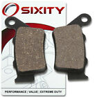 Rear Organic Brake Pads 1999 BMW F650ST Set Full Kit E169 163 168 Strada ko
