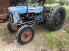 Fordson Super Major Vintage Ford Tractor Grass Topper Bailer