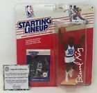 BERNARD KING Signed 1988 Starting Lineup FIGURE Washington BULLETS Schwartz COA