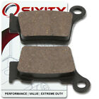 Rear Organic Brake Pads 2007 KTM 525 XC-W Set Full Kit Desert Racing Complet dl