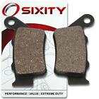 Rear Organic Brake Pads 2002-2006 Husqvarna SM 610 S Set Full Kit 4 Bolt ic
