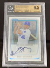 2011 Eric Hosmer Bowman Chrome Autograph RC SP BGS GEM MINT 9.5 Auto 10 Rookie