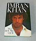 ALL ROUND VIEW IMRAN KHAN 1ST ED 1988 SIGNED AUTOBIOGRAPHY CRICKET RARE