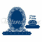 TATTERED LACE Cutting Die FLECTERE OVAL Fancy Foundation