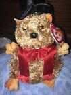 Ty Beanie PUNXSUTAWNEY PHIL 2007 Groundhog (COC PA Exclusive) W/ Tag Protector