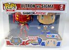Funko Pop! Figures Marvel vs Capcom Infinite- Ultron vs Sigma 2 Pack - New