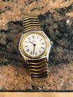 VINTAGE WOMENS EBEL SPORTWAVE WATCH 18KT/STAINLESS STEEL VERY SMALL