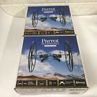 2 New Sealed Parrot Rolling Spider Minidrone blue