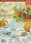 Tea Time Magazine Sept Oct 2020 Afternoon Tea at Carlyle Birthday Tea Party Fall
