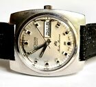 VINTAGE MENS JAEGER LE COULTRE AUTOMATIC MASTER MARINER STAINLESS WATCH CAL 164