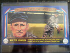 Walter Johnson Cards and Autograph Guide 16