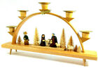 Erzgebirge Nativity Candle Arch Wooden Handmade Made in Germany 1275 x 7