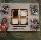 2014 Topps Museum Tom Brady Drew Brees Aaron Rodgers Peyton Manning 4 Jersey 50