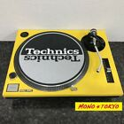 Technics SL 1200 MK3 Black Turntable Direct Drive With yellow steel cover