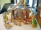 Vintage Fontanini My First Nativity 5 Nativity set with Creche and 11 figures