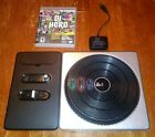 DJ Hero PS3 Turntable Controller Game  Dongle Sony PlayStation 3 ps2