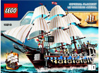 LEGO 10210 Imperial Flagship Pirates with Mini-figures/Sails. Retired. No Box.