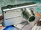 Pentax Optio T10 6.0MP Digital Camera - Silver 6 MP (Not 7 MP I cant change it!)