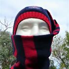 MELBOURNE DEMONS 'Sceanie' A Scarf-Beanie AFL Official licensed product - NEW!