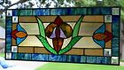 Elm St Victorian Stained Glass Window Panel