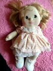 my child doll 1985 blonde hair green eyes pigtails longer hair