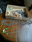 Lot Of Jewelry Making Supplies Beads Chains etc