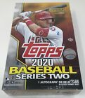 2020 TOPPS Baseball SERIES 2 Unopened HOBBY Card BOX Sealed MLB 1 Auto or Relic