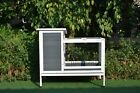 GiantWood Wooden Small RabbitSmall Animals hutch 382 L x 196 W x 338 H