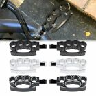 Motorcycle Foot Pegs For Harley Dyna Sportster Softail Footrest Cat Prints Style